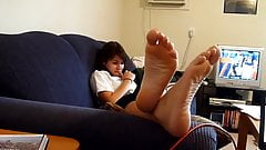 beautiful girl soles