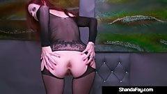 Creaming Cougar Shanda Fay Dildo Fucks Her Creamy Cunt!'s Thumb