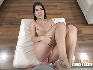 Lady Dee - Brunette Babe Fucked Hard By Big White Dick