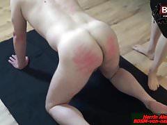 SPANKING EXTREM - Deutsche BDSM Lady Dominant Session