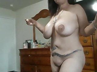 Mature Latina Showing Off Her Big Tits