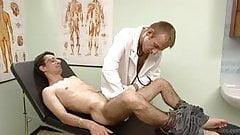 Horny gay doctor