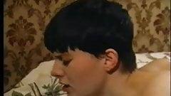 Short Hair Brunette Eager Beaver