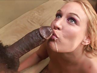 Big Booty Blonde MILF takes on black stallion