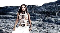 Salma Hayek Nude Tits Scene In 'Frida' on ScandalPlanetCom