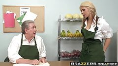 Brazzers - Baby Got Boobs -  Only one way to save the store
