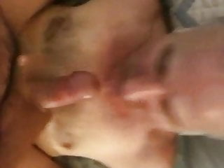 Open your mouth so I can fill it with my cum