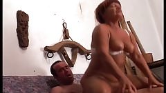 Mature Woman Getting Fucked In Her Ass