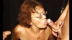 Granny Get Double Penetrated And Pissed On