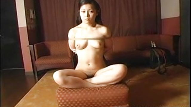 Craving japanese girl gets tied up and gagged porn video