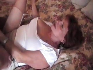 Older Wife Gets Pounded By Younger Cock