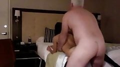Not with fucking boy wife man richest hotel join. was