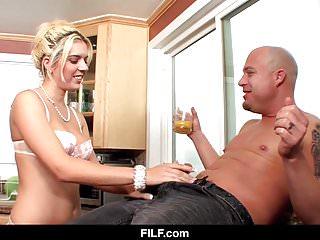 FILF - Kitchen Sex with My Aunt Kodi Gambly