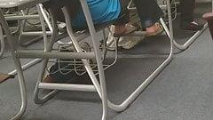 Feet Candid Class Jannet