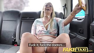 Fake Taxi John gets a good taxi arse rimming
