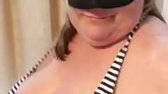 My BBW wife fucked after a trip to the Spa - part 2