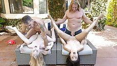 DaughterSwap - GrandDads Fucks Mischievous Grand Daughters