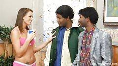 BBC Interracial Teen Parody Sex