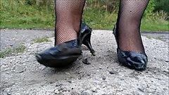 Wife destroy dune heels part 2