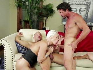 Blonde Bitch Get S Holes Filled