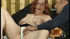 chubby redhead picked up for her first porn video's Thumb