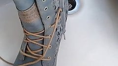 New mustang combat boots