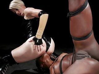 One Tough Slut: Ana Foxxx takes it all