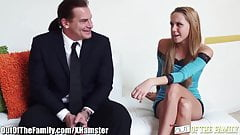 MILF Nina Elle shares Cock with not daughter