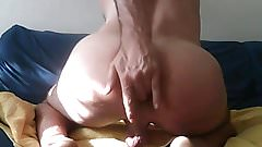 My Slutty Whore Fingering His Ass