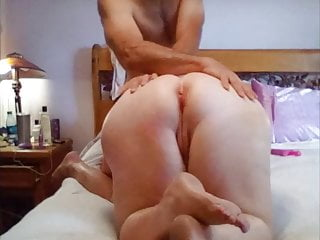Homemade BIG WHITE ASS Anal Slut Wife!