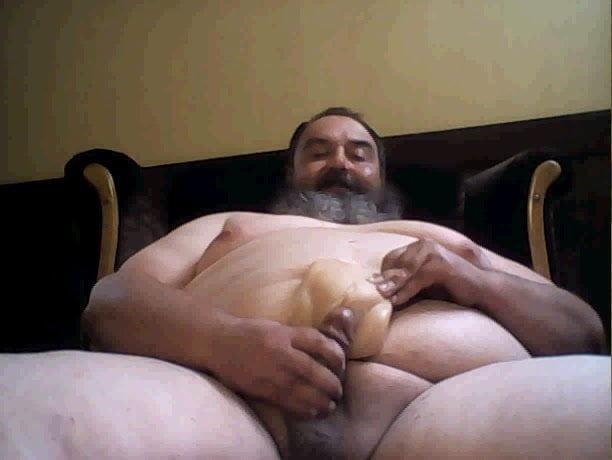 Massive bearded bear CUms