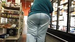 Super Massive Booty On Granny Pawh