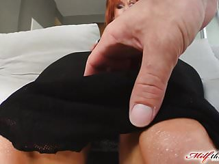 Preview 2 of Milf Thing Redhead milf gets her mature pussy fucked