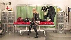 Dressing a doll