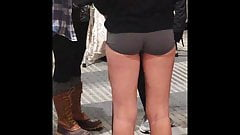 Cute Ass Candid Booty Shorts