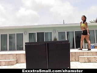 Exxxtrasmall Stranded Teen Gets Picked Up And Fucked