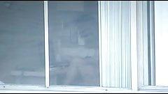Hotel window voyeur
