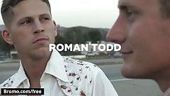Bromo - Brian Huggins with Roman Todd at Bareback Cruising