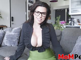 Amazing MILF with big tits Danica Dillon slammed in POV