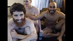 Bearded Hipster Threesome