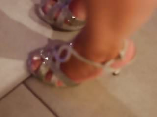 candid sexy open toes sandals