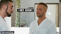 Men.com - Jaxton Wheeler and Luke Adams - Right In Front Of