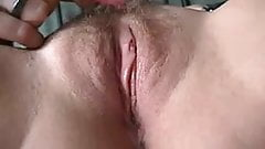 Masturbating vaginas at climax