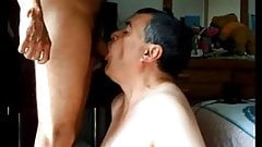 Huge facial after BJ