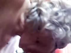 Amateur grandma suck and fuck