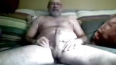 Hairy Dad's Big Cock