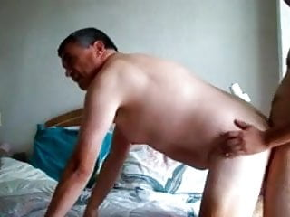 Gay Blowjob Doggie Fuck and Cumeating