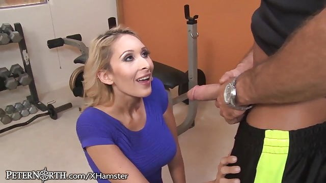 Preview 1 of Stepmom Seduces her stepson at the Gym