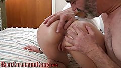 Richard Nailder Fingers Kat Cummings Tight Virgin Asshole