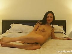Experienced solo babe is getting naked once again